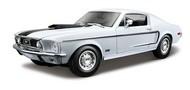 Maisto  1/18 1968 Ford Mustang GT Cobra Jet (White) MAI31167WHT
