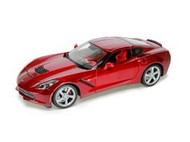 Maisto  1/18 2014 Corvette Stingray Coupe (Met. Red) MAI31182RED