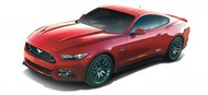 Maisto  1/18 2015 Ford Mustang (Red) MAI31197RED