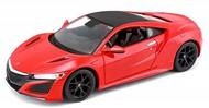 Maisto  1/24 2017 Acura NSX (Red) MAI31234RED