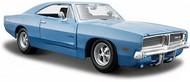 Maisto  1/25 1969 Dodge Charger (Met. Blue) MAI31256BLU