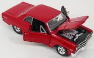 Maisto  1/24 1965 Chevy Malibu SS (Red) MAI31258RED