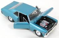 Maisto  1/24 1970 Chevy Nova SS Coupe (Met. Blue) MAI31262BLU