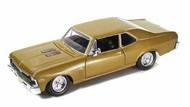 Maisto  1/24 1970 Chevy Nova SS Coupe (Met. Gold) MAI31262GLD