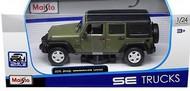 Maisto  1/24 2015 Jeep Wrangler Unlimited (Green) MAI31268GRN