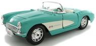 Maisto  1/24 1957 Corvette Convertible (Turquoise) MAI31275TUR