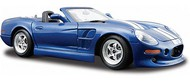 Maisto  1/24 1999 Shelby Series 1 Convertible (Met. Blue w/White Stripe) (D)<!-- _Disc_ --> MAI31277BLU