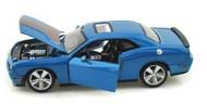 Maisto  1/24 2008 Dodge Challenger SRT 8 (Met. Blue) MAI31280BLU
