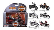 Maisto  1/18 Harley Davidson Motorcycle Assortment Series #34 (12 Total) MAI31360AH