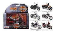 Maisto  1/18 Harley Davidson Motorcycle Assortment Series #34 (12 Total) MAI31360AH