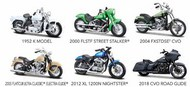 Maisto  1/18 Harley Davidson Motorcycle Assortment Series #37 (12 Total) - Pre-Order Item MAI31360AK