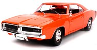 Maisto  1/18 1969 Dodge Charger R/T (Orange) MAI31387ORG