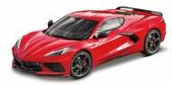Maisto  1/18 2020 Chevrolet Corvette Stingray Coupe (Red) MAI31447RED