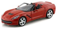 Maisto  1/24 2014 Corvette Stingray Convertible (Red) MAI31501RED