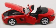 Maisto  1/24 2012 Mercedes Benz SL63 AMG Convertible (Red) (D)<!-- _Disc_ --> MAI31503RED