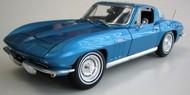 Maisto  1/18 1965 Chevrolet Corvette (Blue) MAI31640BLU