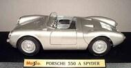 Maisto  1/18 Porsche 550A Spyder (Silver) MAI31843SLV
