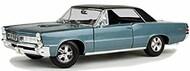 Maisto  1/18 1965 Pontiac GTO Hurst Edition Hardtop (Met. Blue) MAI31885BLU