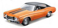 Maisto  1/18 1971 Chevelle SS454 Hardtop (Orange) (New Color) MAI31890ORG
