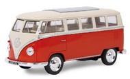 Maisto  1/24 1960's Style VW Window Van (Red/Cream) MAI31956RDC