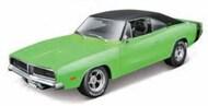 Maisto  1/18 1969 Dodge Charger R/T Custom (Lime Green) MAI32612GRN