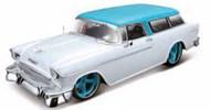 Maisto  1/18 1955 Chevrolet Nomad Custom (Met. White) MAI32613WHT