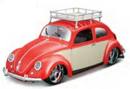 Maisto  1/18 1951 VW Beetle Custom (Red) MAI32614RED