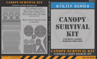 Maketar  1/144 Canopy Survival Kit - Ultimate Canopy Masking MMS014K
