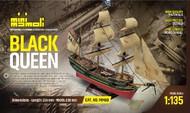 Mamoli  1/135 Black Queen 3-Masted 17th/18th Century Pirate Ship MOL60
