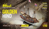 Mamoli  1/110 Golden Hind 3-Masted 1577 British Galleon Ship MOL71