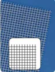"0.32mm Straight Grid Mesh PVC Plastic Sheets 7.25""x11.5"" (2) MQT61101"
