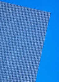 "0.32mm Diagonal Grid Mesh PVC Plastic Sheets 7.25""x11.5"" (2) MQT61102"