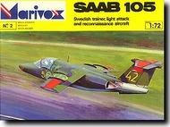 Saab 105 Swedish Trainer #MRX0002
