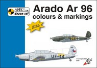 Mark 1 Guide  1/72 Arado Ar-96 Colour And Markings AND Decals (designed to be used with Kopro (ex KP) and Heller kits) MKD72002