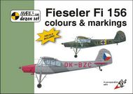 Mark 1 Guide  1/72 Fieseler Fi-156C 'Storch' Colour and Markings with 1:72 decals MKD72004