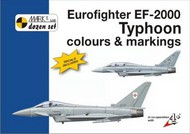 Mark 1 Guide  1/72 Eurofighter EF-2000 Typhoon (12) RAF ZJ924 QO-H 3 Sqn 2006; ZJ914 AC 17(R)Sqn 2007; ZJ921 BW 29(R)Sqn 2006; ZJ950 1435 Flt 2009; ZJ813 BL 29(R) Sqn 2009; Luftwaffe 30+40 JG 74 2007; 30+20 JG 73 2009 special markings 50th Anniversary JG 73; Italy MM7296 36 MKD72006