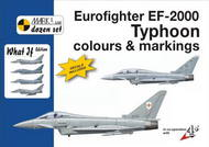 Mark 1 Guide  1/72 Eurofighter Typhoon What If colours and markings. Designed by a four-nation European consortium, the Eurofighter EF-2000A/EF-2000B represents the 4th generation combat jet, primarily intended for air defence but also having a limited air-to-ground capabil MKD72009