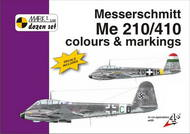 Mark 1 Guide  1/72 Messerschmitt Me.210/Messerschmitt Me-410B-2/U4 colours and markings. Designed in accordance with the 'Zerstorer' (heavy fighter-bomber) concept just prior WWII, the Me 210 was, however, a failure in terms of flying characteristics. Following extensive mo MKD72010