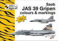 Mark 1 Guide  1/72 Saab JAS-39 Gripen C&M + decals for Swedish Air Force (5x), Czech Air Force (3x), Hungarian Air Force (2x), South African Air Force (1x) and Royal Thai Air Force (1x). (designed to be used with Bilek and Italeri kits) MKD72012