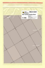 Mark 1 Models  1/144 RAF Base (rectangular concrete panels) MKA14401