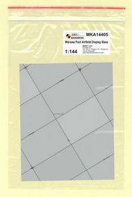 Mark 1 Models  1/144 Warsaw Pact Base (rectangular concrete panels) MKA14405