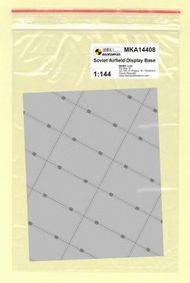 Mark 1 Models  1/144 Soviet Base (rectangular concrete panels) MKA14408