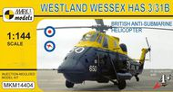 Mark 1 Models  1/144 Westland Wessex HAS.3/HAS.31B (Royal Navy, Royal Australian Navy) - Pre-Order Item MKM14404