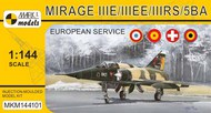 Dassault Mirage IIIE/EE/RS/5BA 'In Europe' (French, Spanish, Swiss & Belgian AF) #MKM144101
