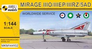 Dassault Mirage IIIO/EP/RZ/5AD 'Worldwide Service' (RAAF, PAF, SAAF, UAEAF) #MKM144102