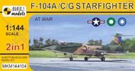 Lockheed F-104A/C/G 'Starfighter At War' (2in1) #MKM144104