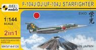 Lockheed F-104J/DJ Starfighter 'Eiko In Japan' (2in1) #MKM144106