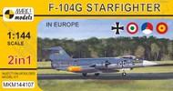 Lockheed F-104G Starfighter 'In Europe' (2in1) #MKM144107