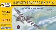 Mark I Models  1/144 Hawker Tempest Mk.V series 1/2Doodlebug Chase (2in1 + resin V-1) - Pre-Order Item MKM144109