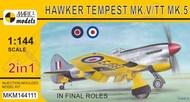 Mark I Models  1/144 Hawker Tempest Mk.V/TT.5 'In final roles' (2in1) - Pre-Order Item MKM144111